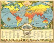 Mc Cormicks Map of the World