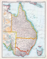 Australia Eastern Section 1922