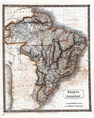 Brazil Paraguay 1828