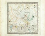 Celestial Ano 1830 no.6 - Circumjacent the North Pole