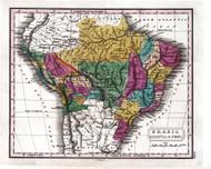 Brazil Bolivia Peru 1829