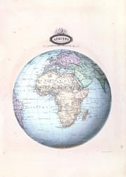 Afrique Spheroidale 1860