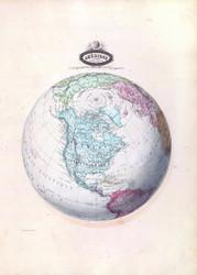 Amerique Spheroidale 1860