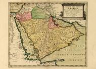 Arabian Penisula 1654
