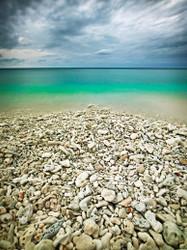 Lady Elliot Island Pebbles Print by Peter Eastway
