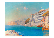 Alexi Vasilievich Hanzen - A View of the Hotel Excelsior Dubrovnik