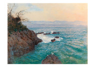 Alfred Zoff - A View of Nervi Coast