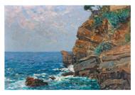 Alfred Zoff - On the Sestri Coast Riviera