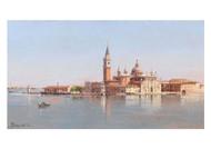 Antoniette Brandeis - Venice a view of San Giorgio Maggiore