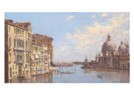 Antoniette Brandeis - Venice a view of the Grand Canal in the Direction of Santa Maria Della Salute