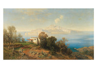 Ascan Lutteroth - A View of Capri