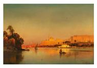 Carl Ernst Koerner - The Alabaster Mosque in Cairo