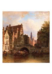 Elias Pieter van Bommel - Scene in Amsterdam