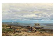 Eugen Gustav Dücker - The Shrimp Fishermen