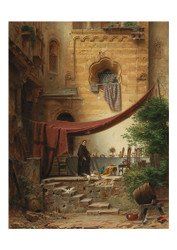 Ferdinand Kab - In the Cloister Garden