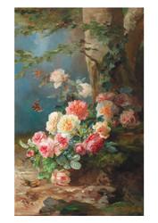 Franz Xavier Birkinger - Floral Still Life
