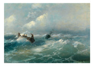 Gabrielo Bartolomeo Casessi - Casessi Castaways in a Stormy Sea