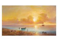 Grigorij Iwanowitsh Kapustin - Sunset on the Black Sea Coast