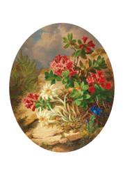 Josef Lauer - Alpine Flowers