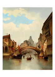 Karl Kaufmann - Motif of Venice