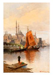 Karl Kaufmann - Scene of Constantinople