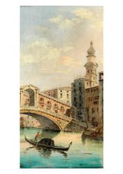 Marco Grubacs - Venice a View of the Rialto Bridge