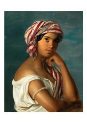 Rosalia Amon - Portrait of an Oriental Woman