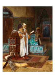 Rudolf Ernst - The Tomb of Sultan Mehmed