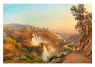 Salomon Corrodi - A View of Tivoli