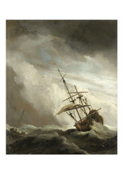 Willem van de Velde the Younger - The Gust