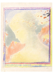 Odilon Redon - Beatrice Coloured