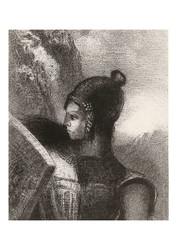 Odilon Redon - Brunhilde