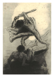 Odilon Redon - Cain and Abel