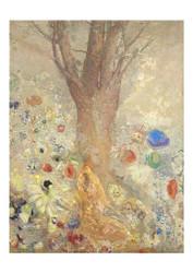 Odilon Redon - The Buddha Coloured