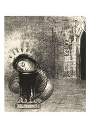 Odilon Redon - A long Chrysalis the Colour of Blood