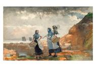 Winslow Homer - Three Fisher Girls Tynemouth