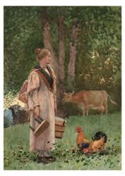 Winslow Homer - The Milk Maid