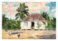 Winslow Homer - Native Huts Nassau