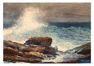 Winslow Homer - Incoming Tide Scarboro Maine