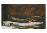 Winslow Homer - Hound and Hunter