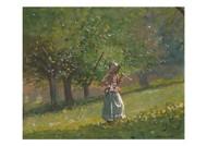 Winslow Homer - Girl with Hay Rake