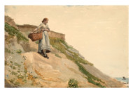 Winslow Homer - Girl Carrying a Basket