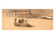 Winslow Homer - Four Boys on a Beach