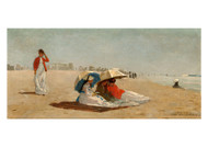 Winslow Homer - East Hampton Beach Long Island