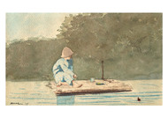 Winslow Homer - Boy on a Raft