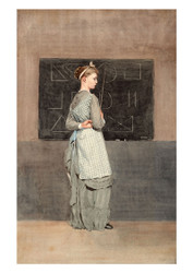 Winslow Homer - Blackboard
