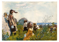 Winslow Homer - Berry Pickers