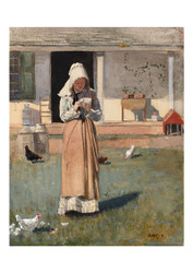 Winslow Homer - A Sick Chicken