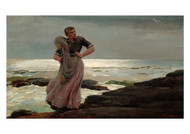 Winslow Homer - A Light on the Sea