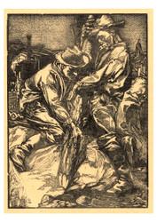 Johannes Josephus Aarts - Constuction Workers Working on Piling